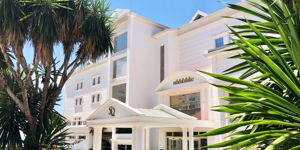 Santa Quaranta Premium Resort i Saranda, Albanien