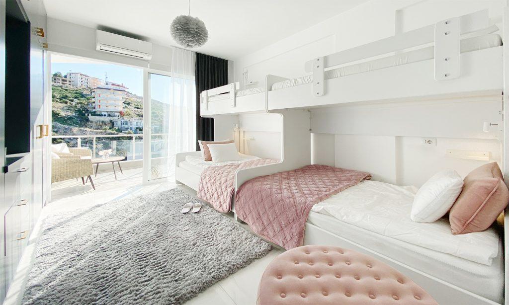 Gästrummet i vår lägenhet i Saranda Albanien
