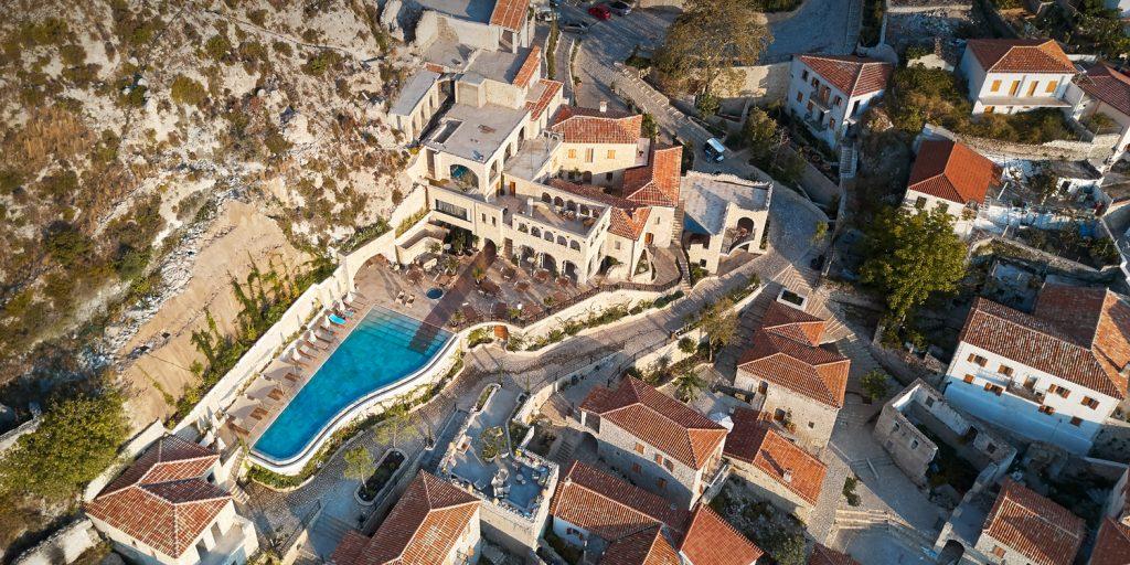 Zoe Hora, ett fantastiskt vackert hotell i Dhërmi