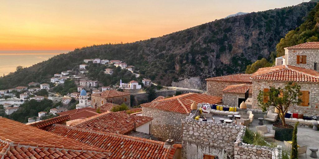 Zoe Hora, hotell med en fantastisk utsikt över Dhërmi